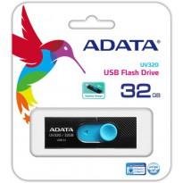 USB флаш памет ADATA UV220 32GB USB2.0 Black/Blue